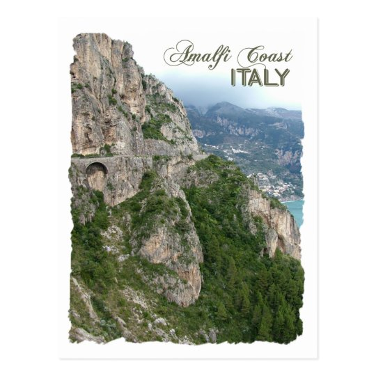 Amalfi Coast custom postcard