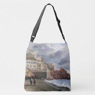 Amalfi Coast Italy Fishing Boats Sea Tote Bag