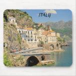 AMALFI COAST ITALY MOUSE PADS