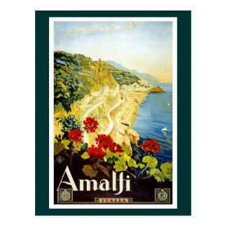 Amalfi Coast, Italy Postcard