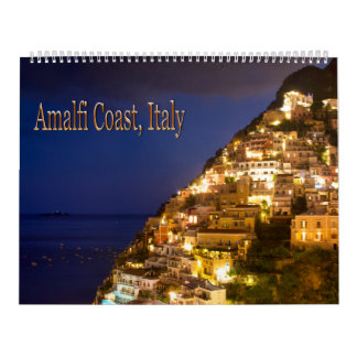 Amalfi Coast, Italy Wall Calendar
