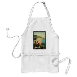 Amalfi, Italy vintage poster Standard Apron