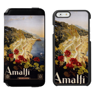 Amalfi Italy vintage travel cases Incipio Watson™ iPhone 6 Wallet Case
