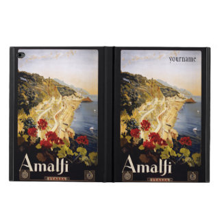 Amalfi Italy vintage travel device cases