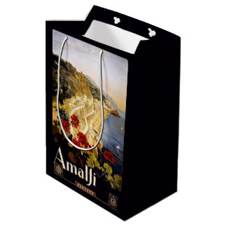 Amalfi Italy Vintage Travel gift bags