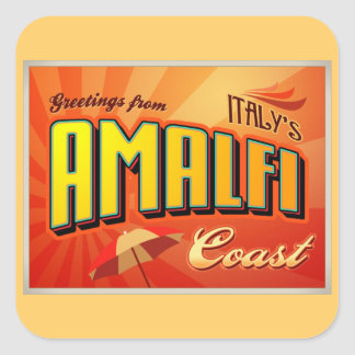 AMALFI SQUARE STICKER