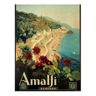 Amalfi Vintage Italian Postcard