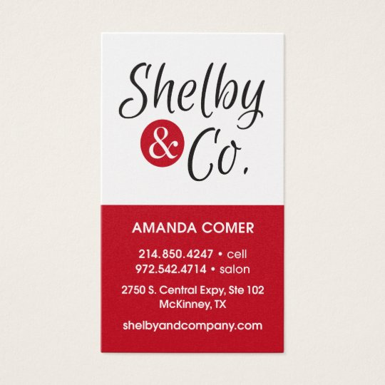 Amanda Comer Business Card New