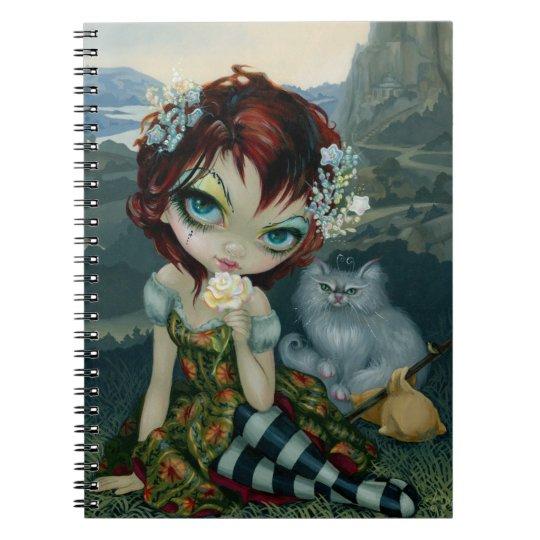 """""""Amanda Palmer Tarot:  The Fool"""" Notebook"""