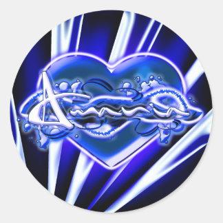 Amania Round Sticker