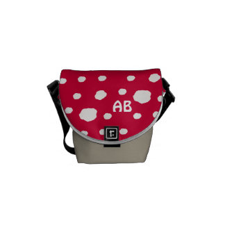 Amanita Fairy Toadstool or Mushroom Commuter Bag