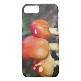 Amanita family mushroom iPhone 7 case