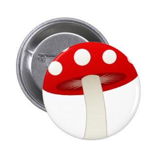 Amanita Muscaria Mushroom Love Pins