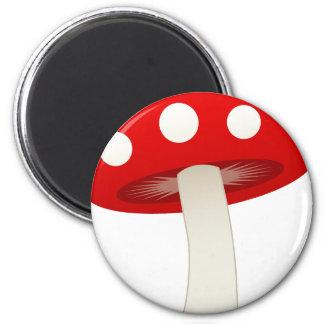 Amanita Muscaria Mushroom Love Magnet