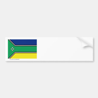 Amapá, Brazil Flag Bumper Sticker