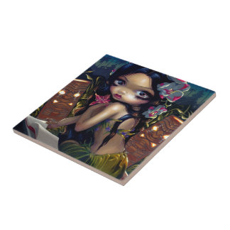 """Amara and the Book"" Tile"