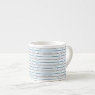Amara Stripe Cornflower Espresso Mug