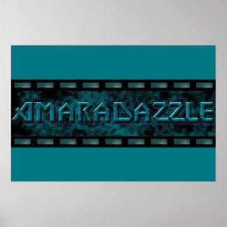 AmaraDazzle Logo Poster