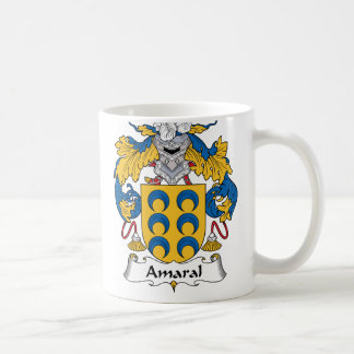 Amaral Family Crest Coffee Mug