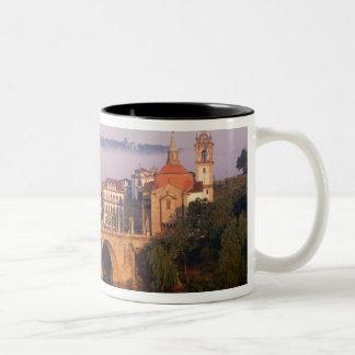 Amarante, Portugal Two-Tone Coffee Mug