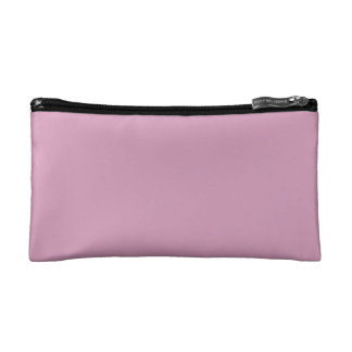 Amaranth Pink Background Makeup Bags
