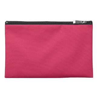 AMARANTH RED (solid color) ~ Travel Accessory Bag