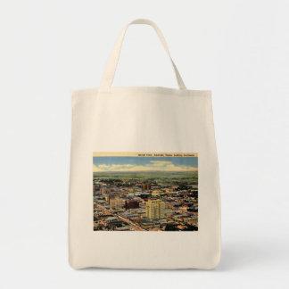 Amarillo, Texas, Aerial View, 1950 Vintage Tote Bag
