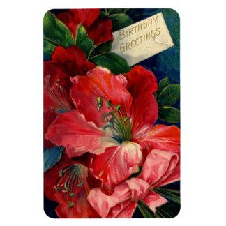 Amaryllis 2 rectangular photo magnet
