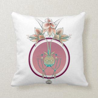 Amaryllis and jewels cushion