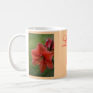 Amaryllis Coffee Mug