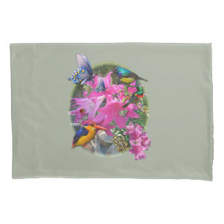 Amaryllis-flower Garden meeting Pillowcase