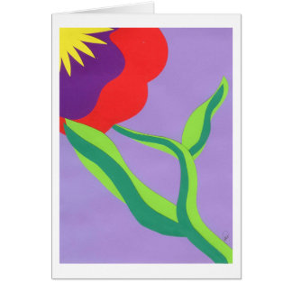 Amaryllis II Card