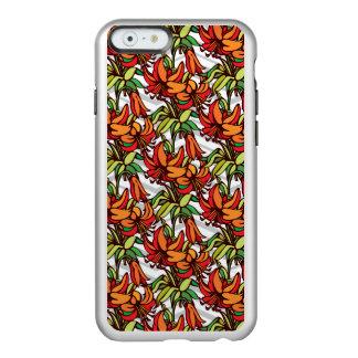 Amaryllis Orange Floral Blooms Incipio Feather® Shine iPhone 6 Case