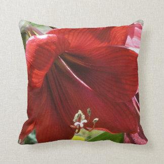 Amaryllis Throw Cushions