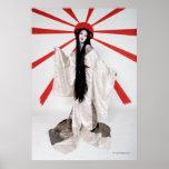 """""""Amaterasu"""" poster by Cyril Helnwein"""
