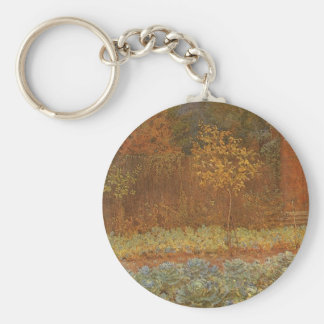 Amateur (Coachman & Cabbages) by Frederick Walker Keychains