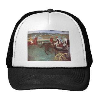 Amateur Jockeys On The Course Mesh Hats