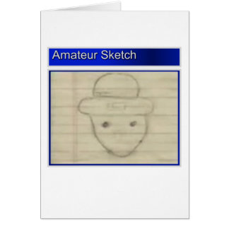 Amateur Leprechaun Sketch Card