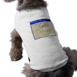 Amateur Leprechaun Sketch Sleeveless Dog Shirt
