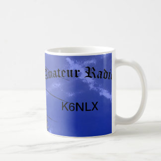 Amateur Radio and Call Sign Coffee Mug