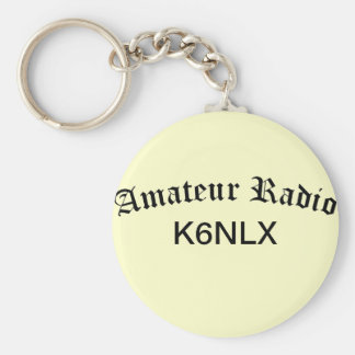 Amateur Radio and Call Sign Key Ring