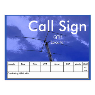 Amateur Radio Beam and Tower QSL Post Cards