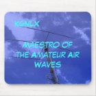 Amateur Radio Call Sign Air Waves Mousepad