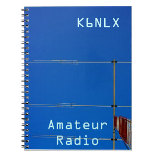 Amateur Radio Call Sign & Beam 3 Notebook