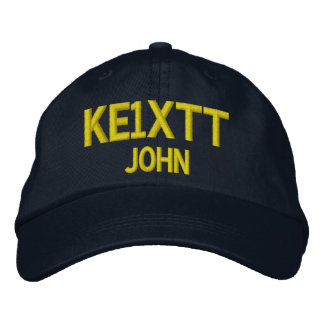 Amateur Radio / Ham Radio Callsign Hat Embroidered Cap