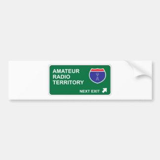 Amateur Radio Next Exit Bumper Stickers