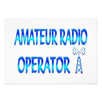 Amateur Radio Operator Custom Announcements