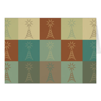 Amateur Radio Pop Art Card