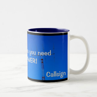 Amateur Radio QRO and Callsign Mug