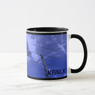 Amateur Radio QRZ and Callsign Mug